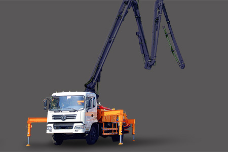 Truck-mounted Concrete Boom Pump
