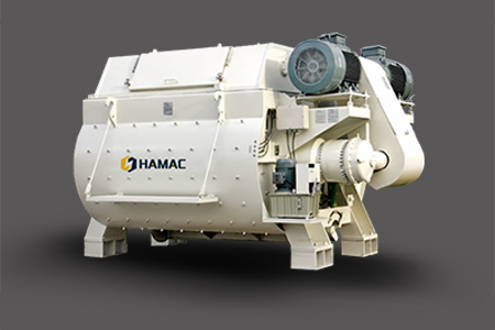 European Tech.Twin shaft Concrete Mixer