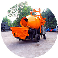 HBT15 Electric Concrete Mixer Pump