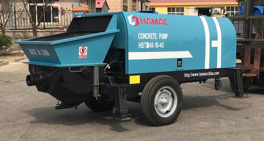Electric Concrete Pump(HBT Series)