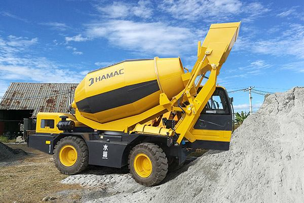 HMC450 Self-loading Concrete Mixer