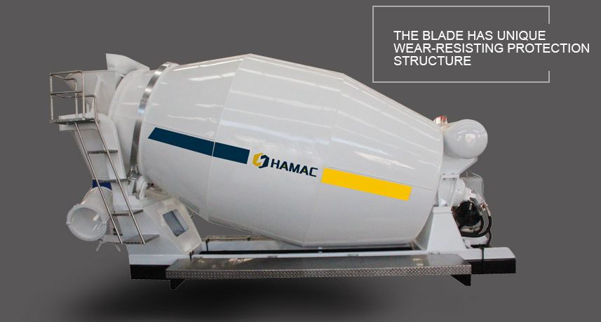 Concrete Transit Mixer Without Truck