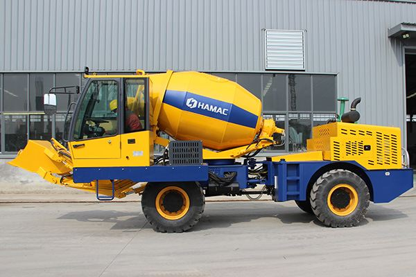 HMC250 Self-loading Concrete Mixer