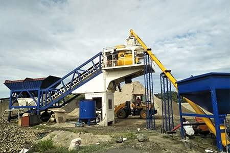 <strong><font color='#FF0000'>Mobile Concrete Batching Plant</font></strong>