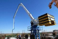 <b>Elevator shaft Self-climbing Concrete Placing Boom</b>