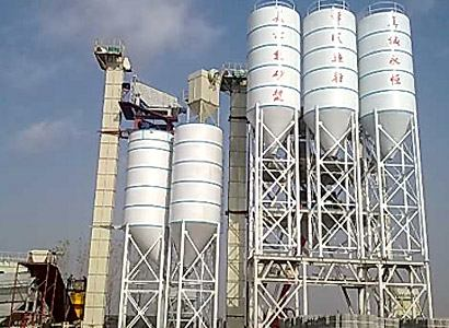 Ladder type dry mortar product line