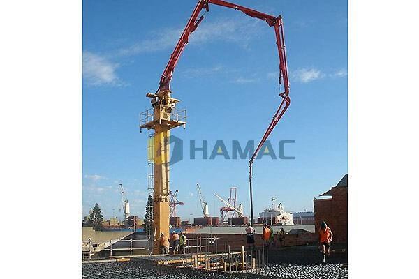 HGY28 Concrete Placing boom in Malaysia