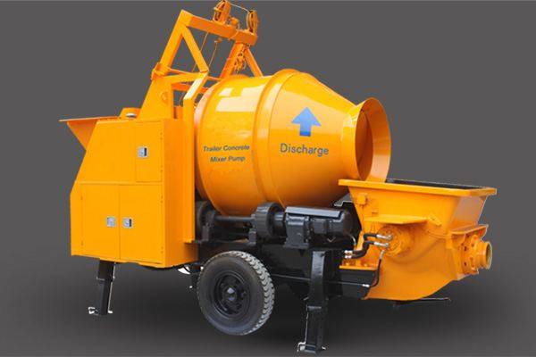 <b>Concrete Mixer with Pump</b>