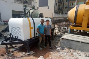 DHBT40 Concrete Pump in Cameroon