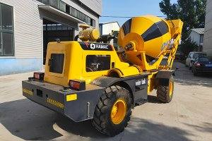HMC150 self loading concrete mixer in Benin