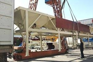 HZS60 Concrete Batching Plant in Guatemala
