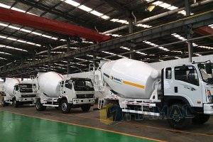 Concrete Mixer Trucks in Kiribati