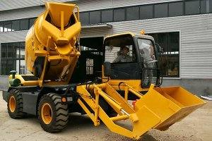 HMC350 Self-loading Concrete Mixer in Bhutan