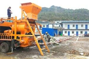 MHBT25-L1 Concrete Mixer Pump in Philippines