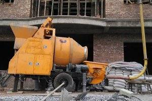 15m3 concrete mixer and pumping machine in Cameroon