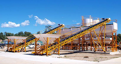 Batching Plant without Concrete Mixer