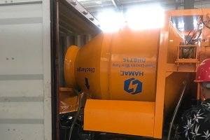DHBT15 concrete mixer with pump in South Afirca