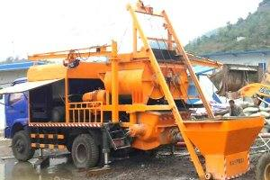 HBT25-L1 Concrete Mixer Pump in South Africa
